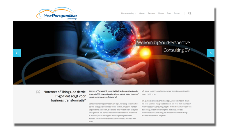 Website Your Perspective Consulting