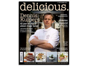 Mockup cover Delicious Dennis Kuipers